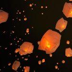 夜空に灯りをスカイランタンフェスティバル ‐ SONY α7 III(ILCE-7M3)撮影