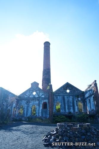 犬島精錬所美術館にある発電所跡