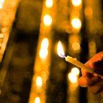 下鴨神社・御手洗祭、揺らめくろうそくの火  – SONY α7 III(ILCE-7M3)撮影